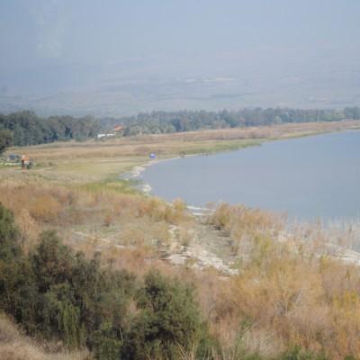 Sea of Galilee northwest coast